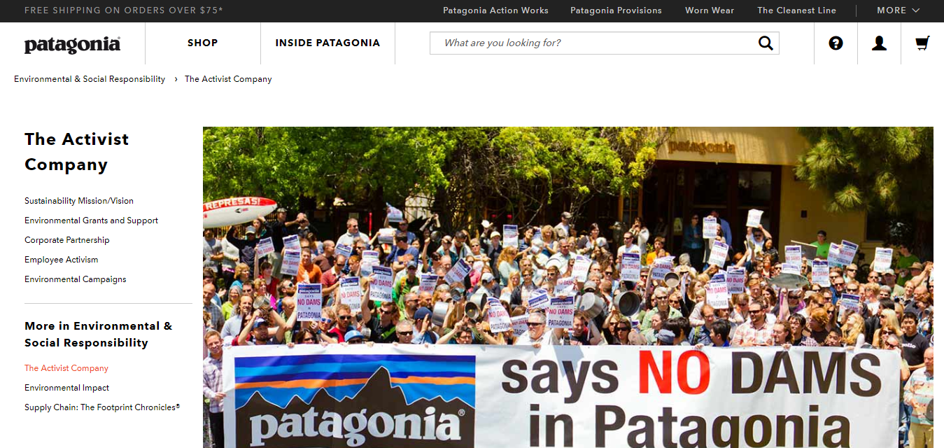 The Patagonia travel product recommended by Nate Masterson on Pretty Progressive.