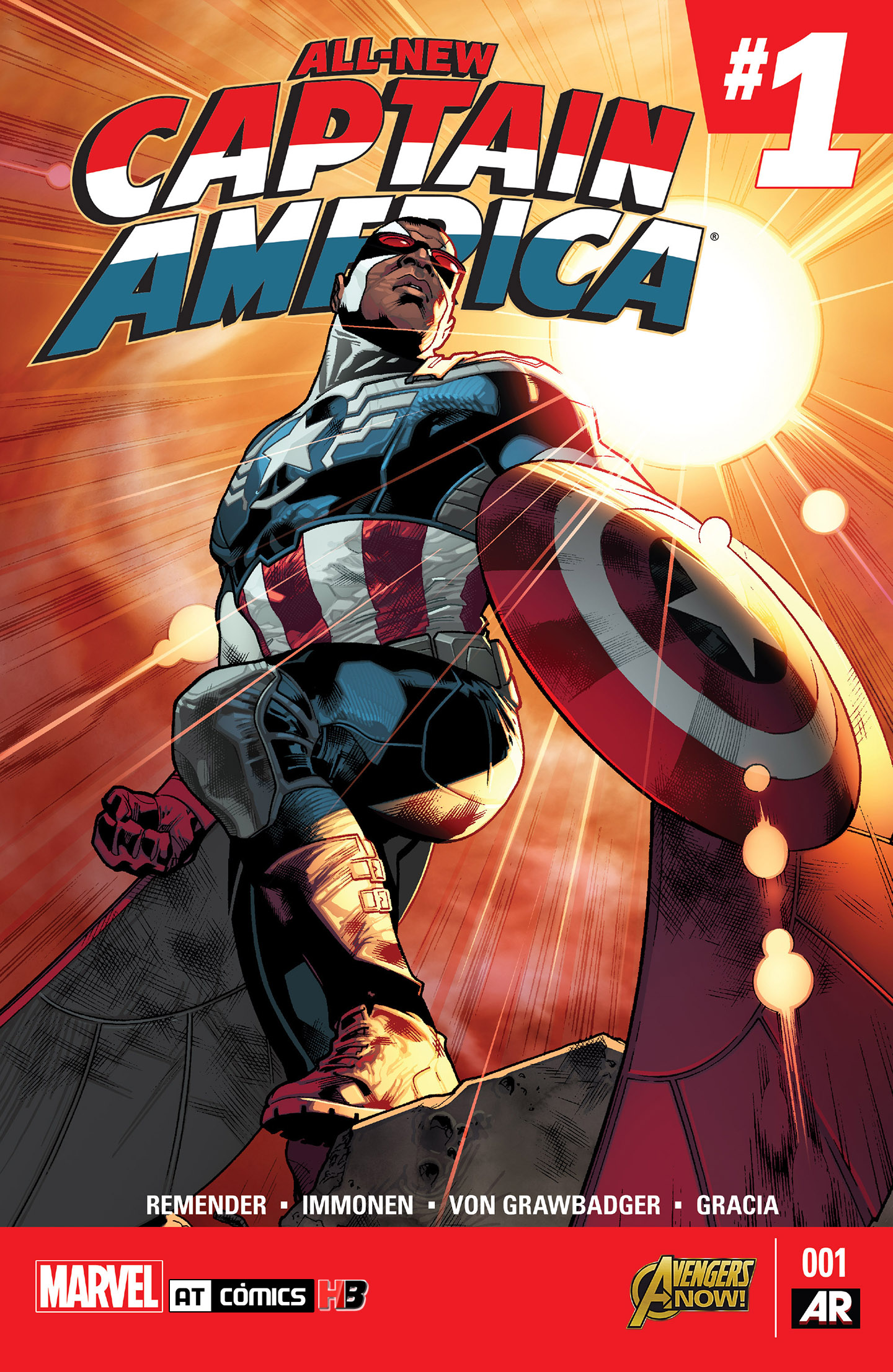 All-New Capitán América [Vol.1] [Marvel Now!]