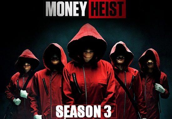 Money Heist 2019 WebRip 720p 480p S03 Complete NF Series Dual Audio Hindi Dubbed
