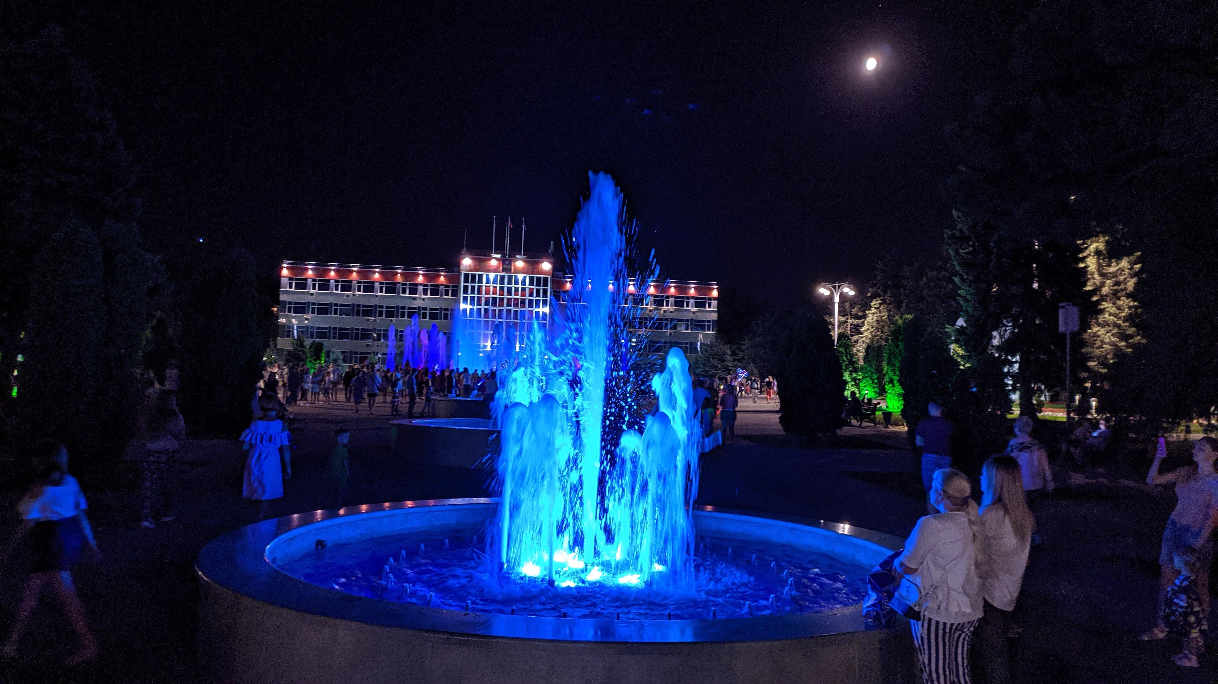 центральный фонтан анапы