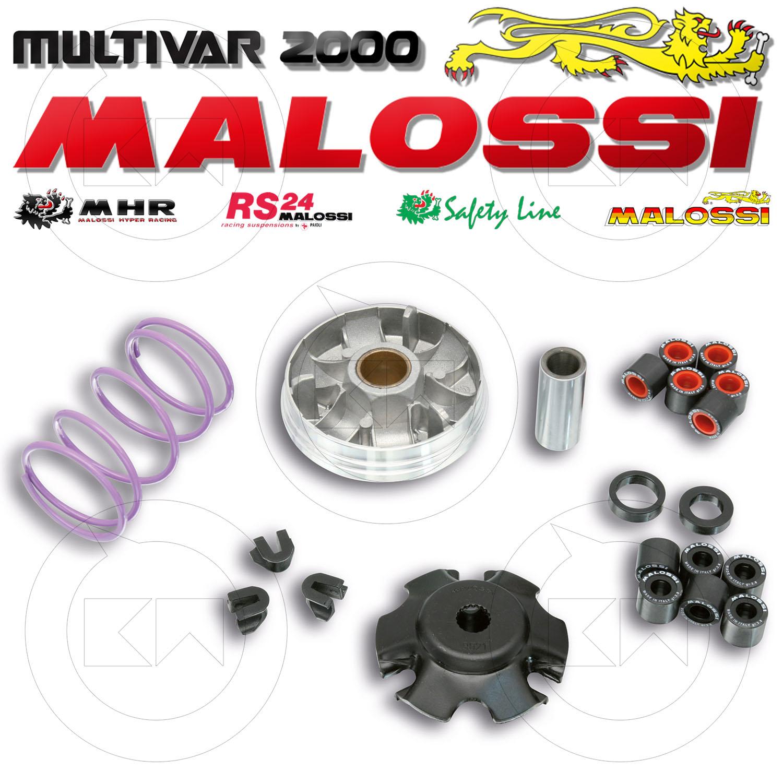 SR50 Street Sportcity Street 50 MALOSSI Multivar MHR-Team Overrange Variomatik f/ür Aprilia SR50 Sport