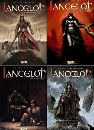 Lancelot (1-4) KOMPLET [Komiks PL]