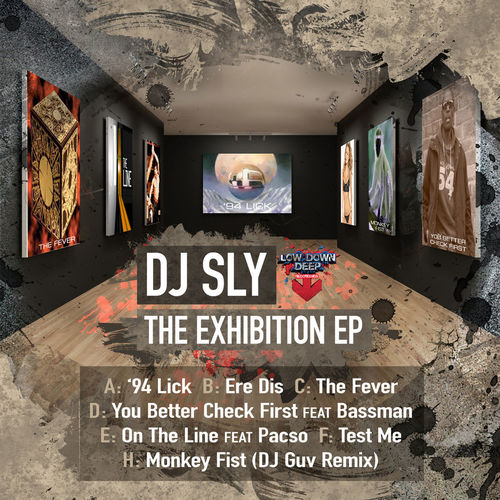 DJ Sly - The Exhibition EP 2015