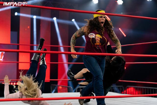 ODB Vuelve y ataca a Deonna Purrazzo Impact Wrestling 2 Febrero