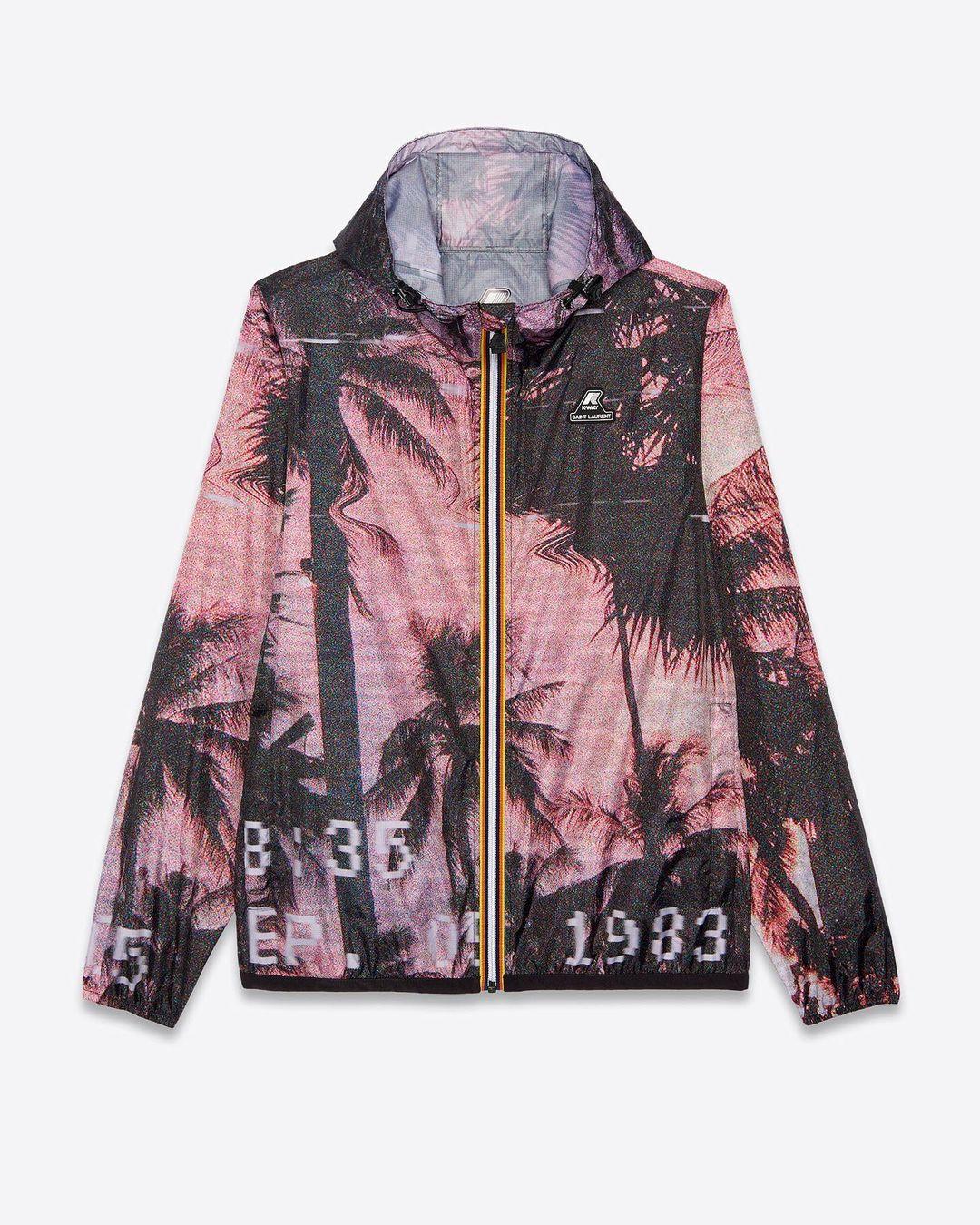 Saint Laurent X K-Way, nuova giacca limited edition