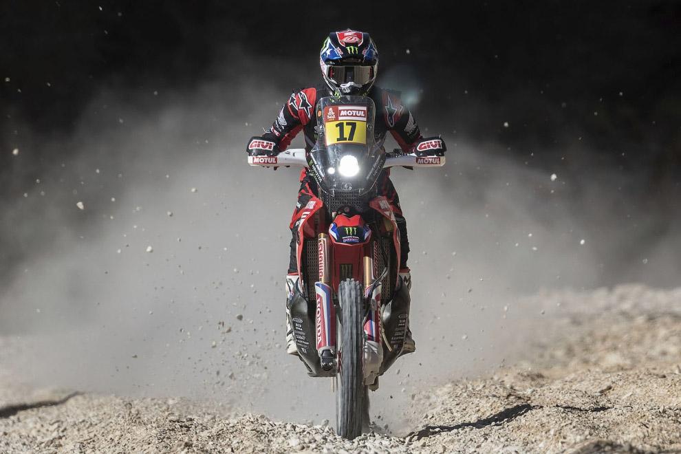 Ралли Дакар 2020 в пустыне