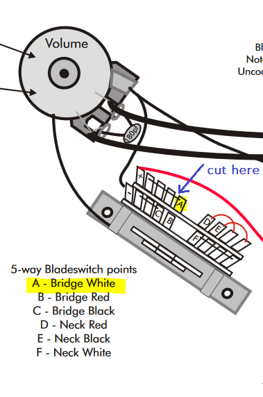Help with P24/custom 24 Piezo switching Mod to position 4 , only want neck  single coil | Official PRS Guitars Forum | Prs Wiring Diagram |  | Official PRS Guitars Forum - PRS Guitars