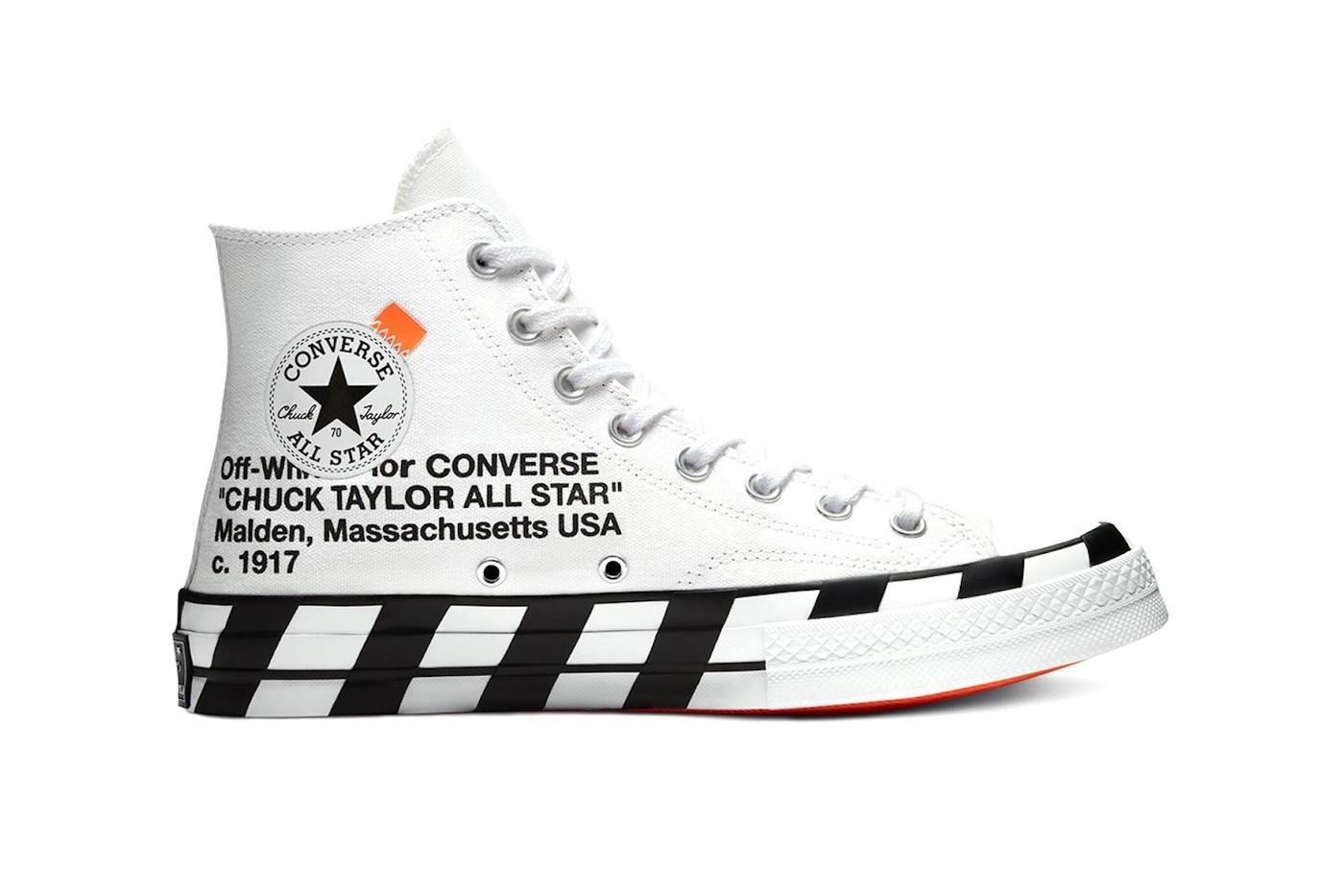 Off-White X Converse tornano le Chuck 70 co-lab
