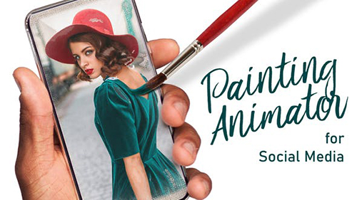 Painting Animator for Social Media 29447420 - Project for After Effects (Videohive)