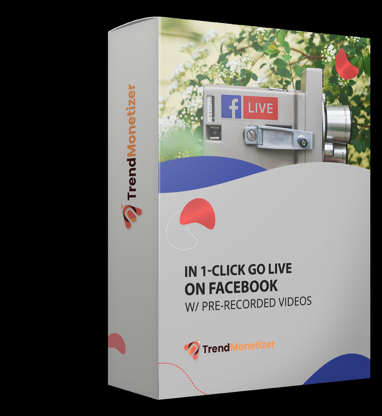 In 1-Click GO Live On Facebook w/ Pre-Recorded Videos
