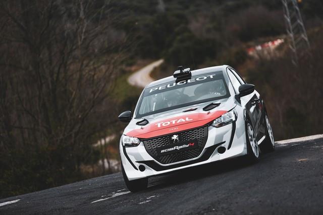 La 208 Rally Cup Fait Ses Débuts Au Mont-Blanc Avec La Nouvelle 208 Rally 4 ! 2-2