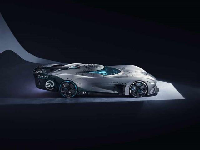 Jaguar Lève Le Voile Sur La Vision Gran Turismo SV : La Voiture De Course 100% Électrique Ultime Pour Les Passionnés De Course Automobile Jag-GTSV-Elevatedside-inshadow-161220
