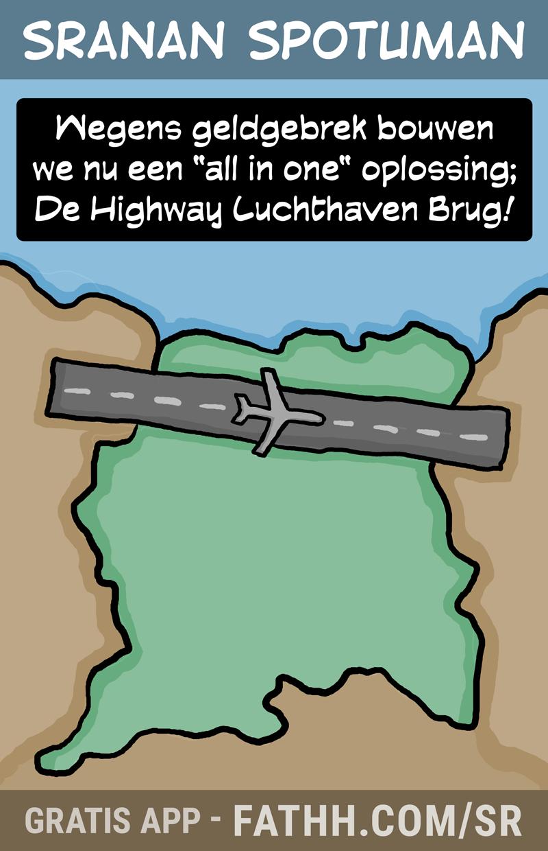Sranan Spotuman : Highway Airpoirt Bridge
