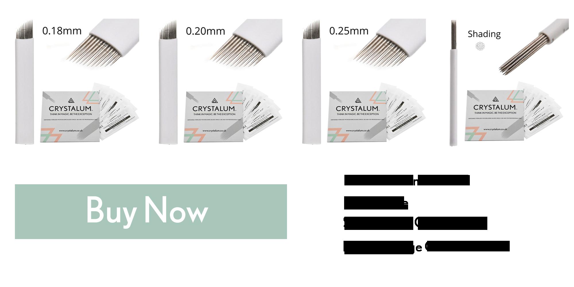 crystalum microblading blades