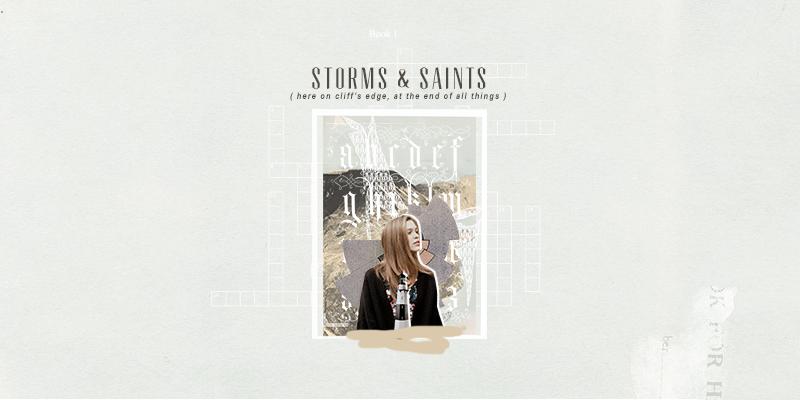 storms & saints.