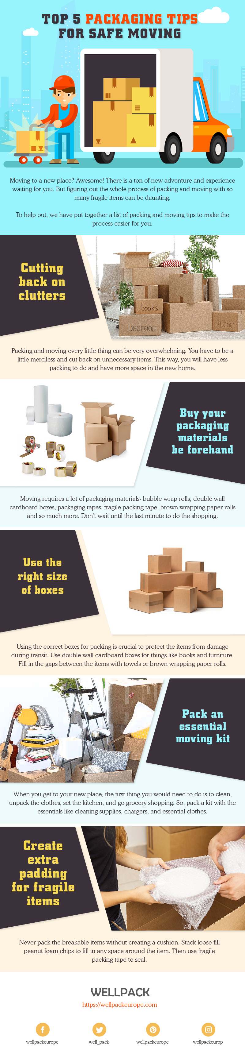 Essential Packaging Tips for a Safe Move