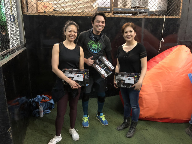 Winners of our Archery Tag Social on April 26th in Downtown Los Angeles
