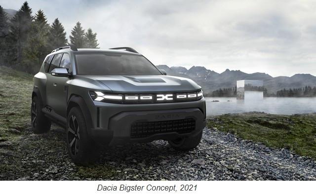 Dacia, la petite marque qui voit grand 2021-Dacia-Bigster-Concept