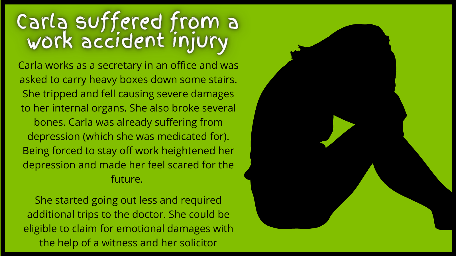 Work Accident Injury Case Study for Emotional Damages