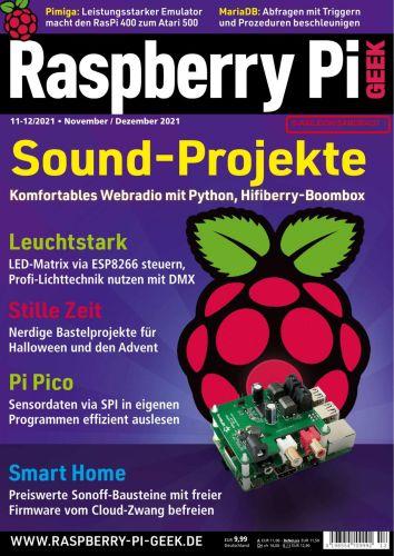 Cover: Raspberry Pi Geek Magazin No 11 November 2021