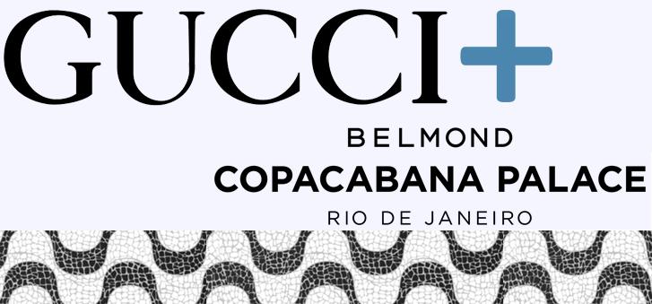 Com 284 m² e no térreo do icônico Belmond Copacabana Palace, a Gucci  inaugurou ontem, num soft opening, sua 8ª boutique no Brasil - e a segunda  no Rio de ... 382fb13980
