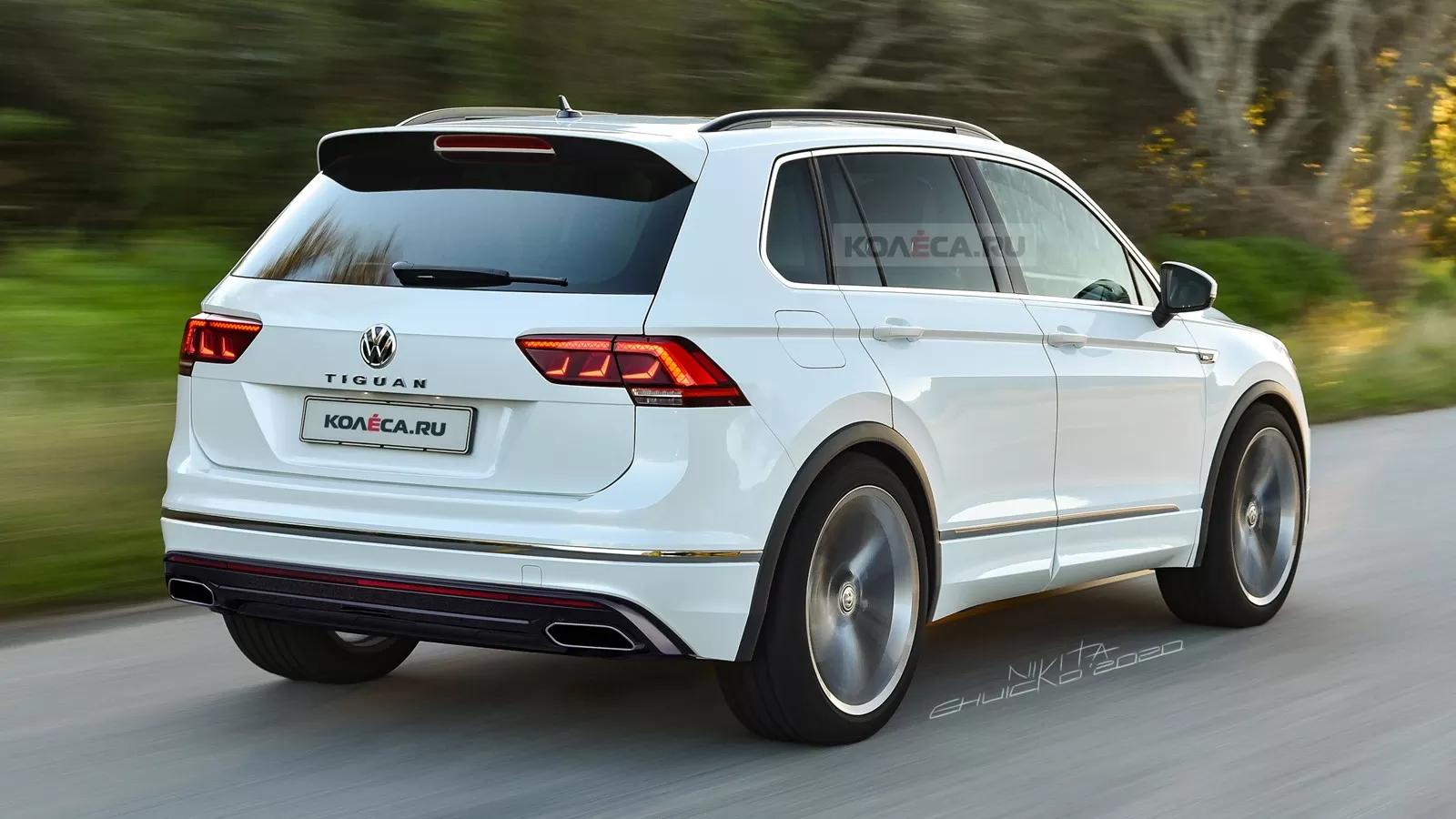 2021 Volkswagen Tiguan II Facelift 12