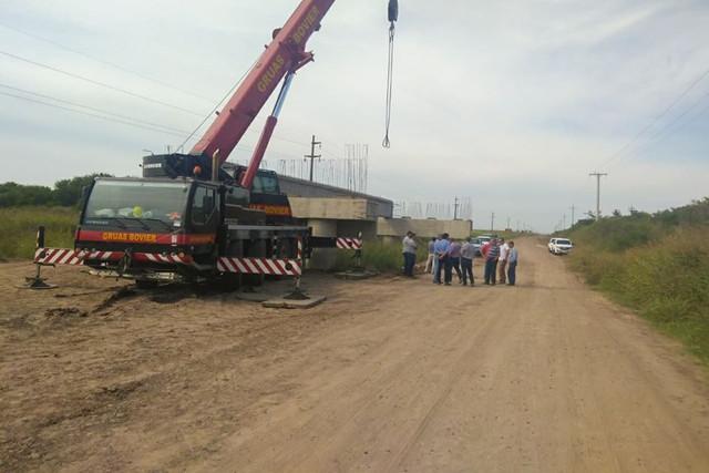 Regionales: Trabajos en la Ruta 51 cerca de Irazusta