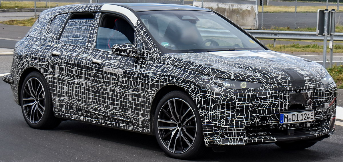 2020 BMW i6/iNEXT/iX8/iX 58