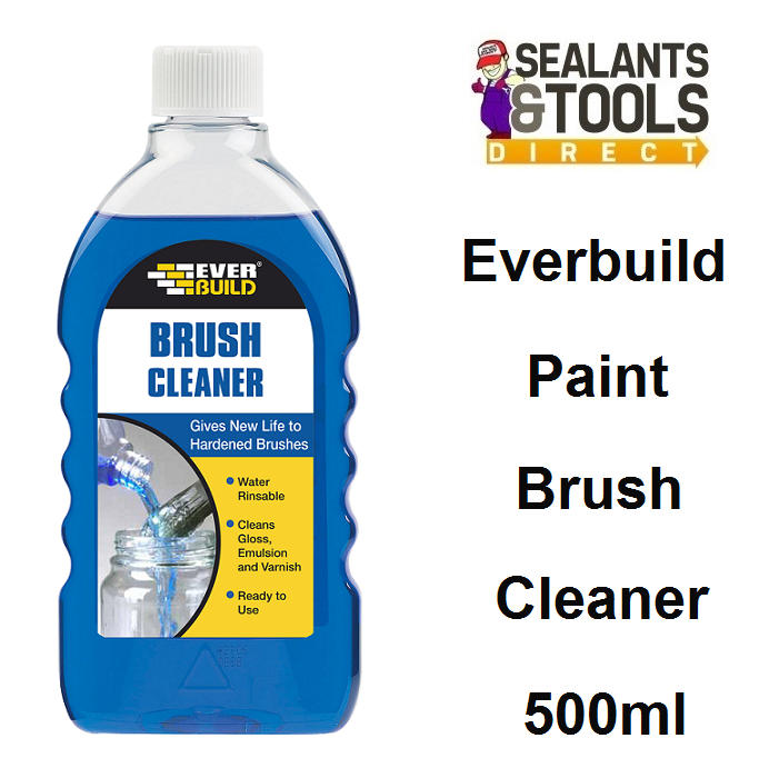 Everbuild Paint Brush Cleaner 500ml BRUSHCL