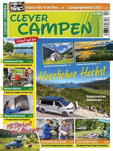 Cover: Clever Campen Magazin No 04 2021