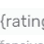 Ошибка {rating], как восстановить работу рейтинга?