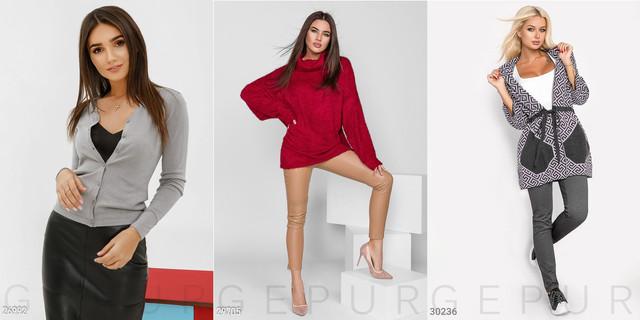 жіночі светри та кофти фото