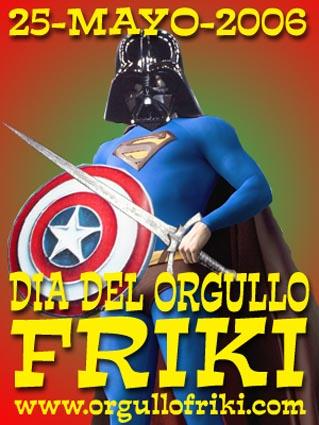 D-a-del-Orgullo-Friki-2006-Primer-cartel-anunciador