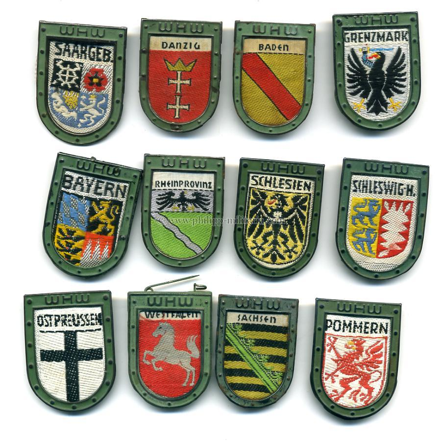 WHW Winterhilfswerk badges