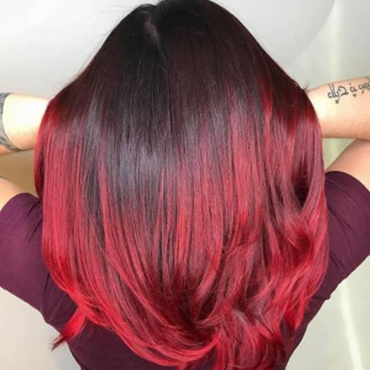 ruby -hair-color