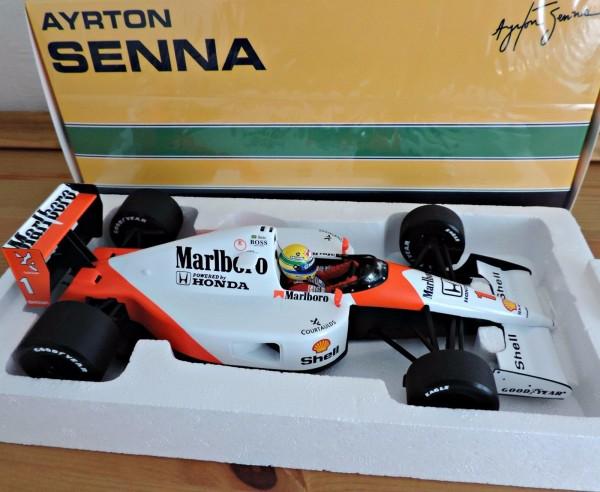 Senna MCLAREN Honda MP4-6 1991